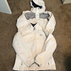 North face 2-1 winter coat